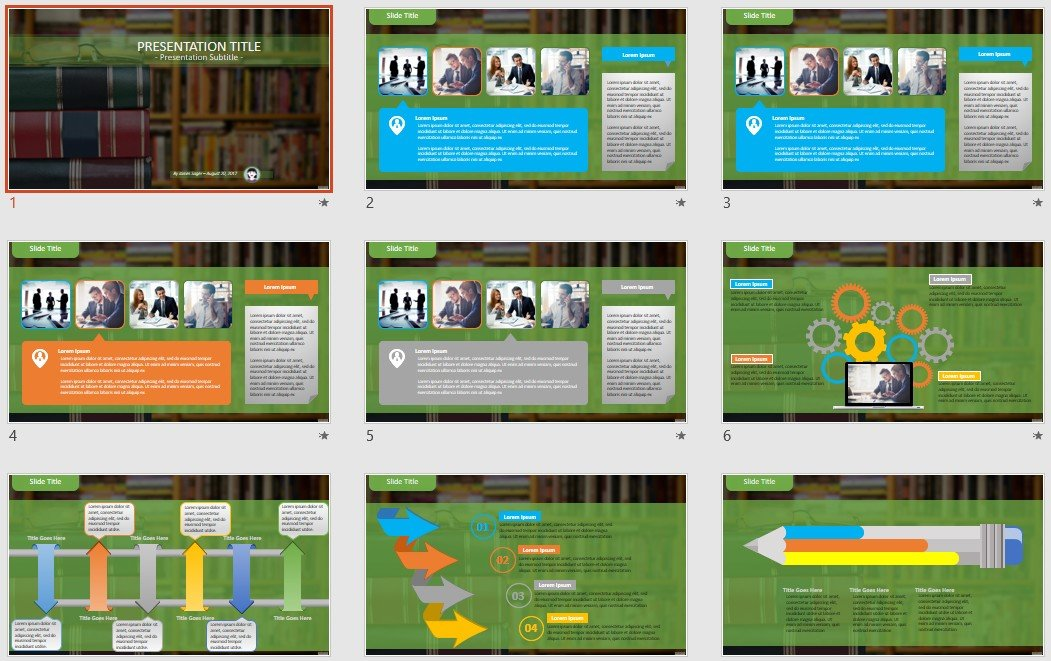 Powerpoint Free Com Free Powerpoint Templates Books
